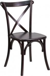 Walnut X-Back Chair