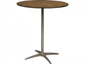 36 Inch Round High Boy Table Rental