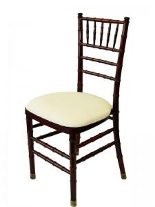 Mahogany Chiavari Chair - Party Rentals